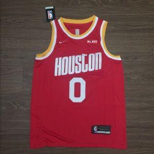 Retro Russell Westbrook Rockets Jersey